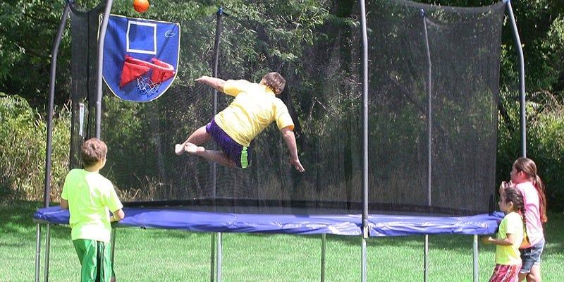 Klika safe trampolines