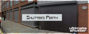 Roller shutters in Perth