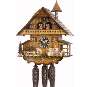 Chalet-style clock