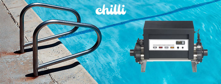 Electric pool heaters